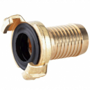 """Quick connector hose fitting brass 1,5"""""""