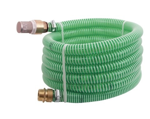 """7m suction hose with brass connection SET - 1,25"""""""