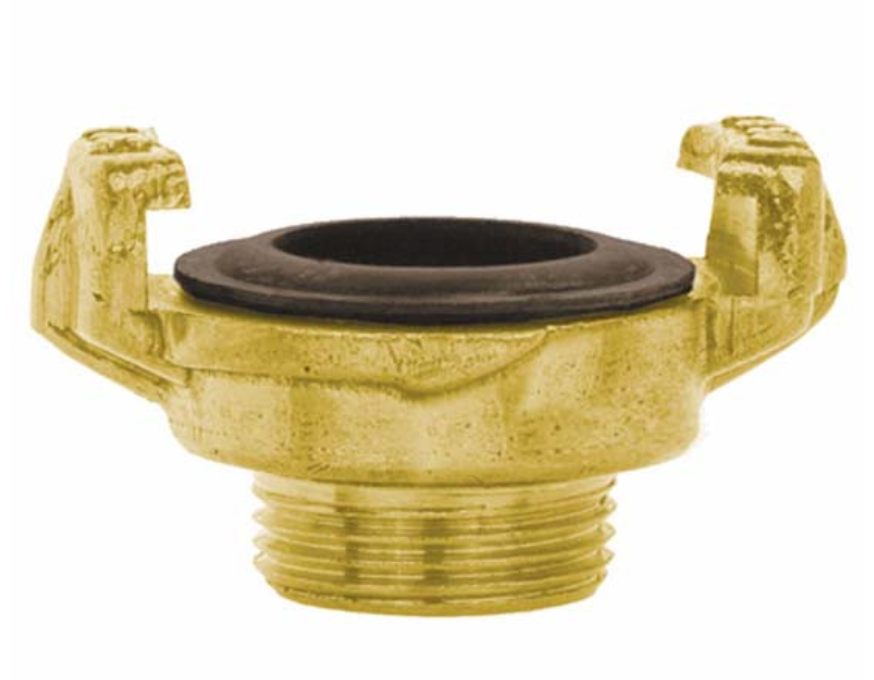 "Quick connector 1"" brass male thread"