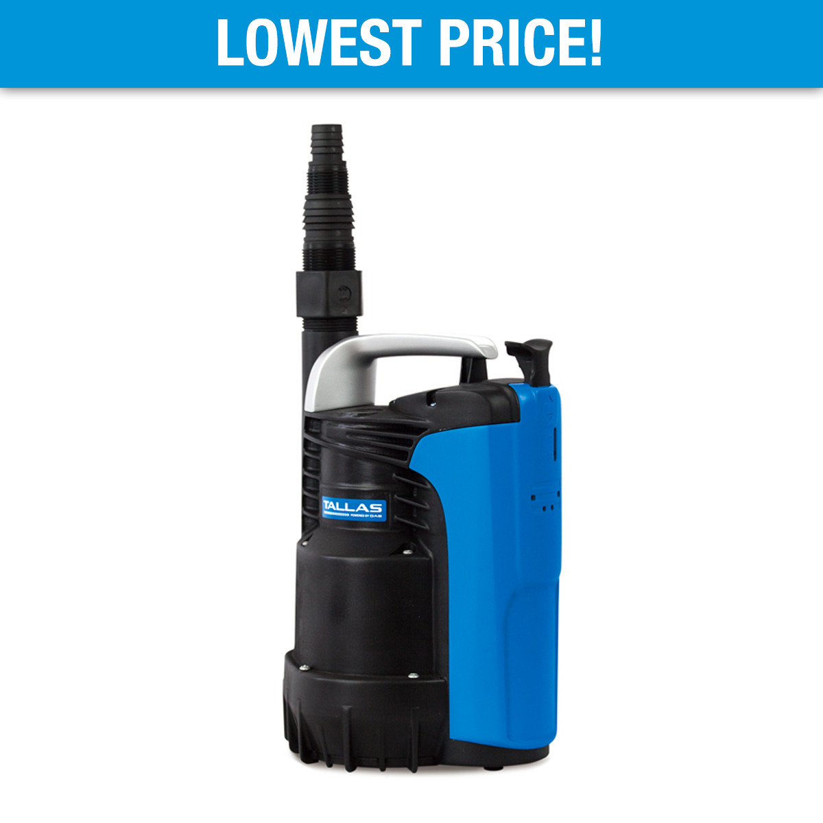 Tallas D-CWP 300 Submersible Utility Pump