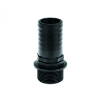 Hose coupling external thread perpendicular PP 1,25""