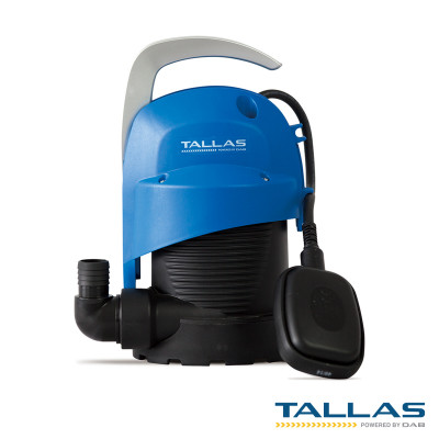 Tallas D-CW 200 Submersible Pump + 10m drain hose