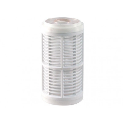 """10"""" Carbon filter cartridge to eliminate odours and contaminants that affect the taste of the water"""
