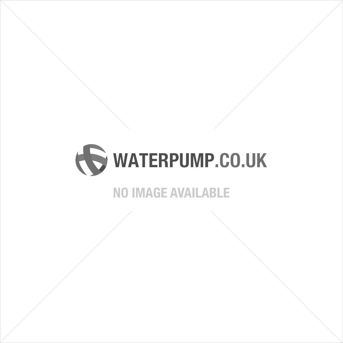 HWW INOX 4350 Hydrofoorpomp + filter