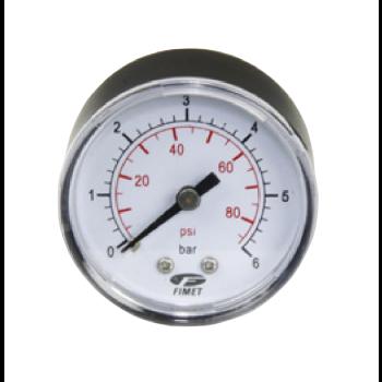 Pressure gauge 0-6 bar - Back connection