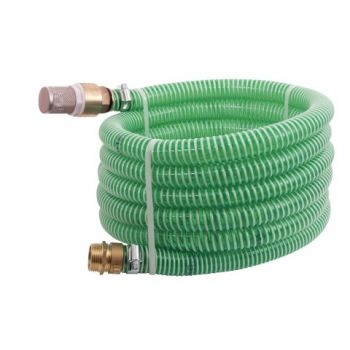 7m suction hose with brass connection SET - 1,25""
