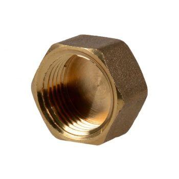 """Plug brass 1"""" - female thread"""