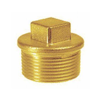"""Plug brass 1"""" - male thread"""