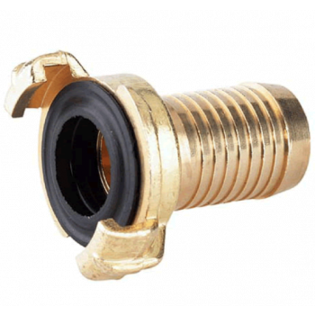Quick connector hose fitting brass 1""