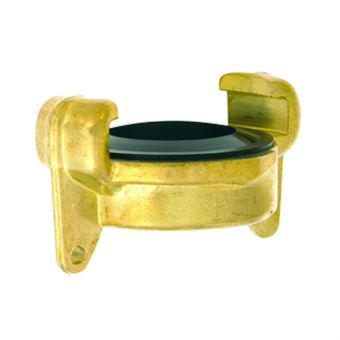 Quick coupling dust cap brass