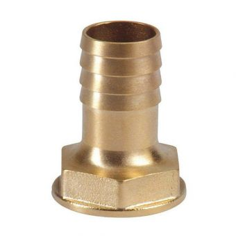 "Hose socket brass 25 mm (1"" female thread)"