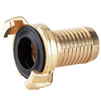 Quick connector hose fitting brass 1/2""