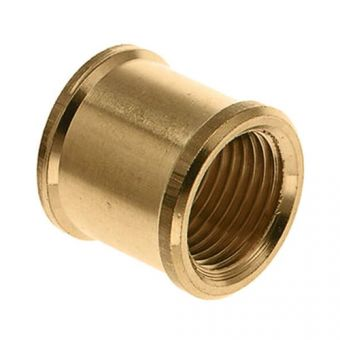Socket brass 1""