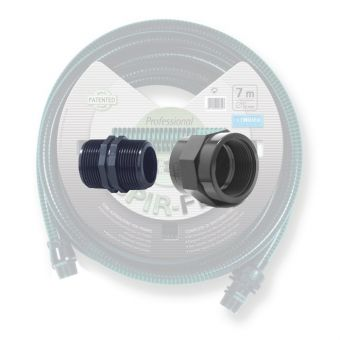 "Fittings for 7m drain hose - 1"" (25 mm)"