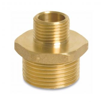 "Reducing nipple brass from 1"" to 1 ¼"""