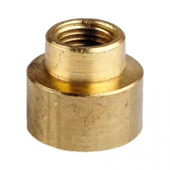 "Reducing socket brass from 1 ¼"" to 1 ½"""