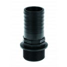 "Hose socket 40 mm (1 ½"" male thread)"