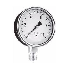 Pressure gauge 0-10 bar - Bottom connection