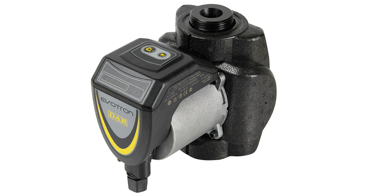 "DAB Evotron 60/130 1/2"" SOL Circulation Pump (central heating pump)"
