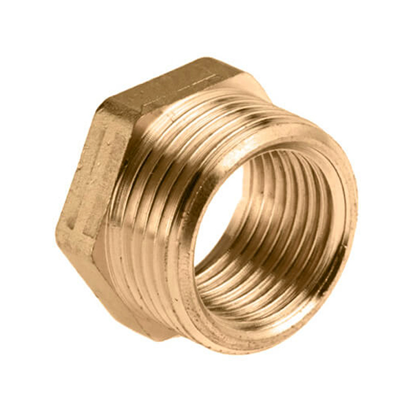 Reducing bush brass from 1